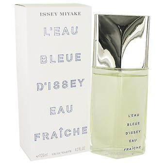 L'eau bleue d'issey pour homme eau de fraiche toilette spray by issey miyake 459490 120 ml