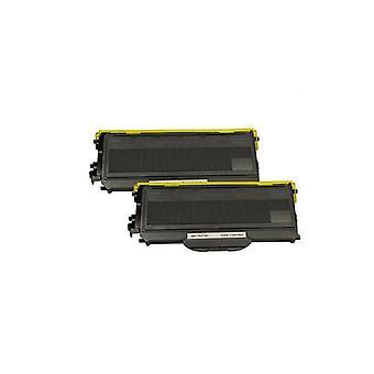 2 x TN-2150 TN360 Black Premium Toner