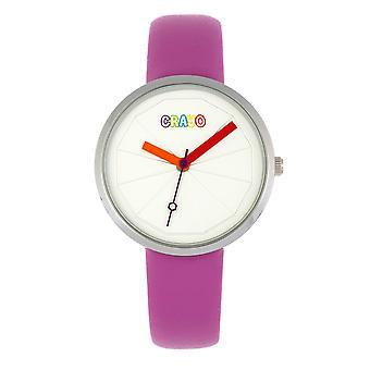 Crayo Metric Unisex Watch - Purple