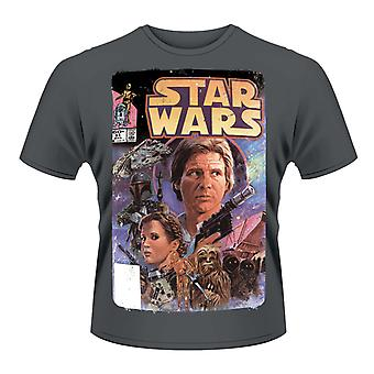 Star Wars Comic Princess Leila Han Solo T-Shirt Ufficiale