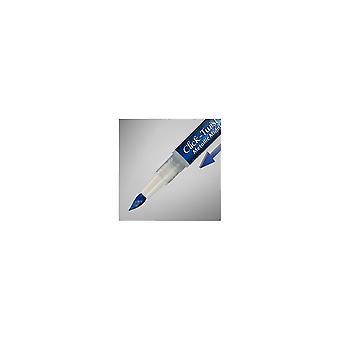 Rainbow Dust Click & Twist Brush Pen Metallic Midnight Blue