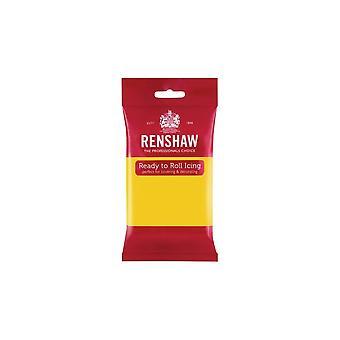 Renshaw geel 500g klaar om te rollen fondant ijsvorming Sugarpaste