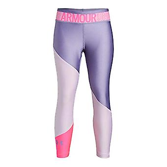 Under Armour Heatgear Armour Color Block Ankle Crop, Purple Ace//Purple Luxe,...