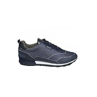 Hugo Boss Footwear Hugo Boss Mens Dark Blue Zaphir Runn Jacq Trainers