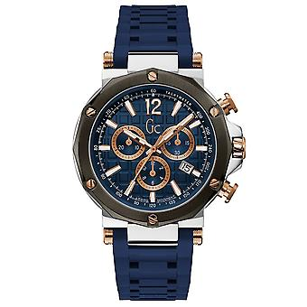 Gc Guess Collection Y53007g7mf Spirit Men's Watch 44 Mm