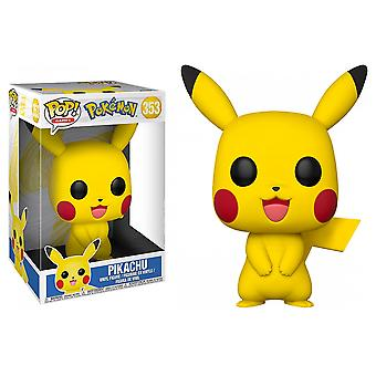 Pokemon Pikachu US Exclusif 10'quot; Pop! Vinyle