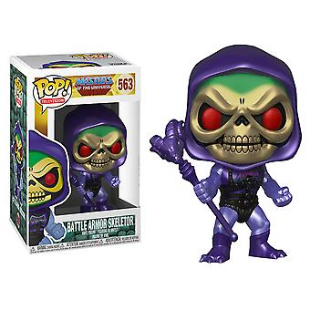 Masters of Universe Skeletor Battle Armor Metallic US Pop