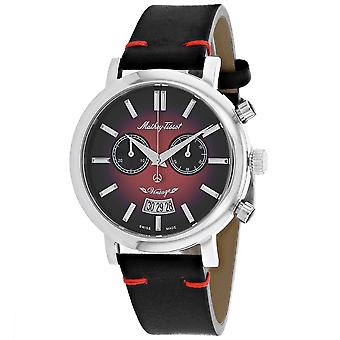 Mathey Tissot Men's Reloj de esfera roja - H42CHAR