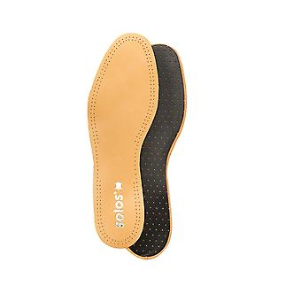 Solos Relax Leather Carbon Insoles With Odour Stopper Ladies and Mens shoes