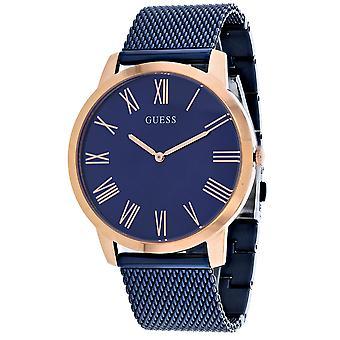 Guess Men's Henry London Blue Watch - W1263G4
