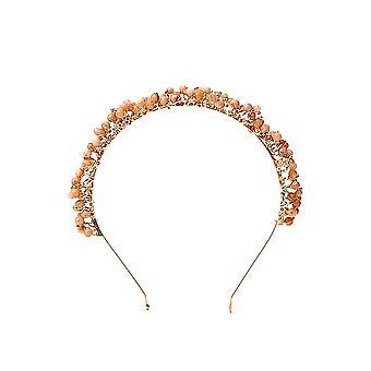Rosantica 356orpolvs Women's Orange Brass Headband