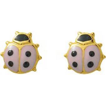 Ohrringe Käfer Gold 375/1000 gelb (9K)
