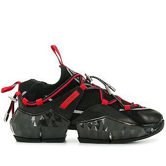 Diamond Trail Black/Red Sneakers