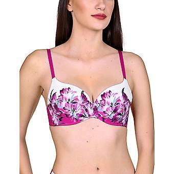 Lisca 40484 Women's Egina Floral Acolchoado Bikini Top