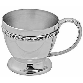 Keltische Band Zinn Kindes Cup