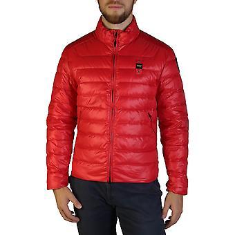 Blauer Original Men Fall/Winter Jacket - Red Color 35675
