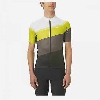 Giro Chrono Sport rövid ujjú jersey 2020: fekete / klasszikus csíkos s