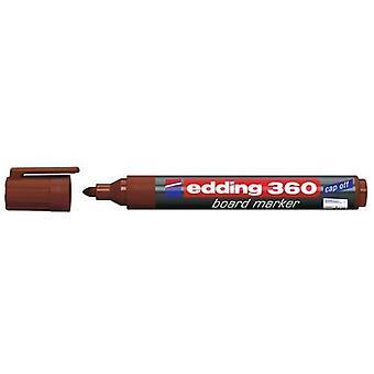 edding-360 marcador de placa marrom 10PC 1,5-3 mm / 4-360007