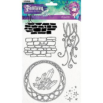 Studio Light Clearstamp A5 Element Fantasy Collection nr.377 STAMPFC377