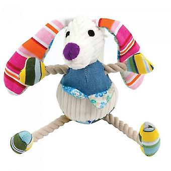 Good Boy Mini Hug Tugz Rabbit Dog Toy