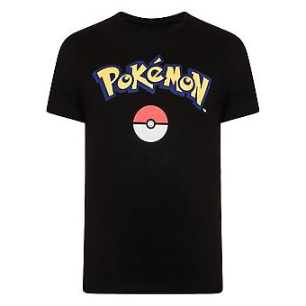 Pokemon Official Gift Mens Pikachu Logo T-Shirt
