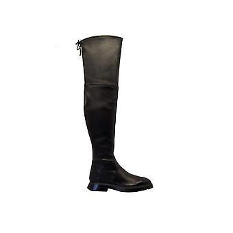 Stuart Weitzman Kristinablackleather Women's Black Leather Boots