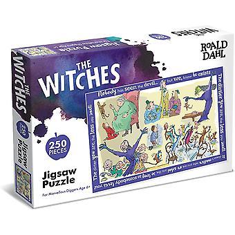 Paul Lamond Roald Dahl Witches 250 Piece Jigsaw Puzzle