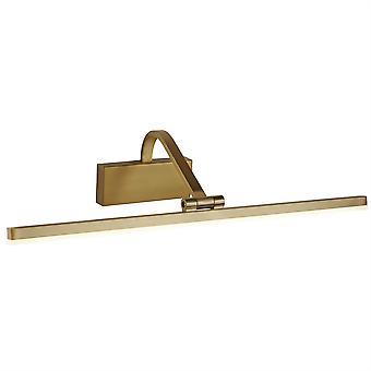 Searchlight LED bild lampor integrerad LED 1 ljus bild vägg ljus borstad guld 5551-51SB