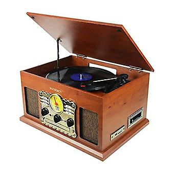 Reproductor de discos Sunstech PXRC5CD WD Wood