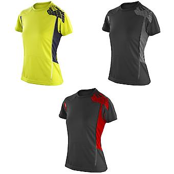 Spiro Womens/Ladies Sports Performance Training T-Shirt
