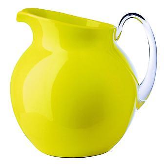 Mario Luca Giusti Palla Kunststoff Krug Gelbe Farbe