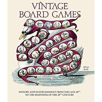 Vintage Board Games - History and Entertainment from the Late 18th to