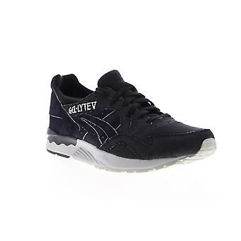 Asics Gel Lyte V  Mens Black Canvas Low Top Sneakers Shoes