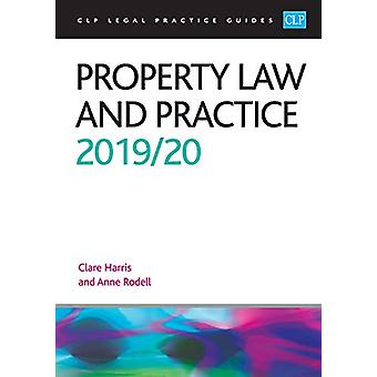 Property Law and Practice 2019/2020 by Anne Rodell - 9781913226053 Bo