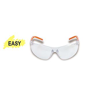 Beta 070610001 7061 TC Safety Glasses With Clear Polycarbonate Lenses