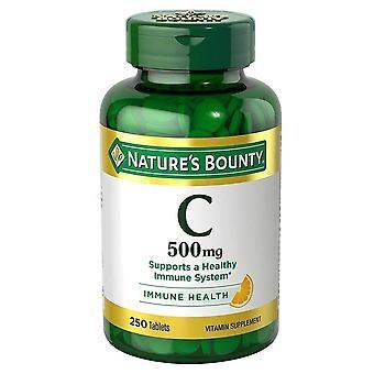فضله فيتامين c الطبيعة، 500 ملغ، أقراص، 250 ea
