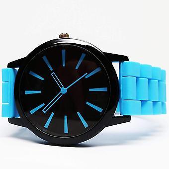 Orologio sportivo in silicone in blu