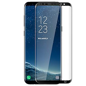 Force Glass Tempered Glass Protection Film Samsung Galaxy S8 - Black