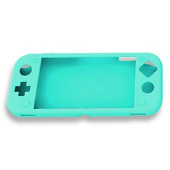 For Nintendo Switch Lite Soft Silicone Full Body Shock Protective Case Cover [Teal]