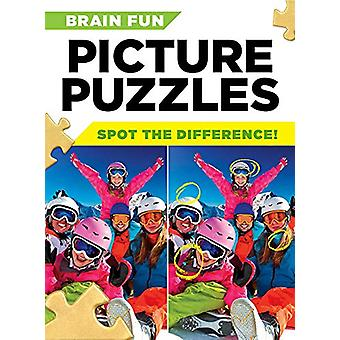 Brain Fun Picture Puzzles - Spot the Differences! by Centennial Books