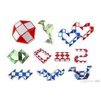 Snake Cube/Snake twist/Magic Cube (rød/hvid)