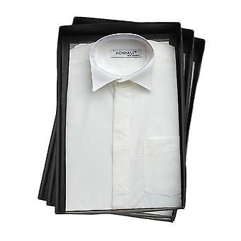 Meninos de página marfim asa camisa de colarinho