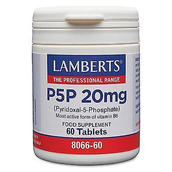 Lamberts P5P 20mg Tabletten 60 (8066-60)