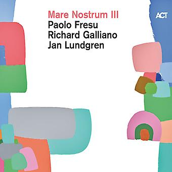 Mare Nostrum Iii [CD] USA import