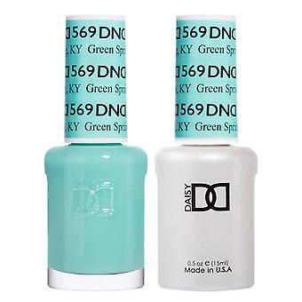 DND Duo Gel & Nail Polish Set - Green Spring KY 569 - 2x15ml