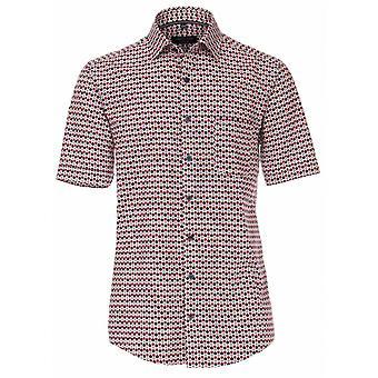CASA MODA Casa Moda Circle Print Short Sleeve Shirt