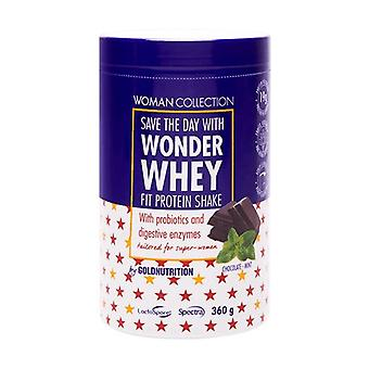 Wonder Whey Chocolate-Mint - Fit Protein Shake 360 g