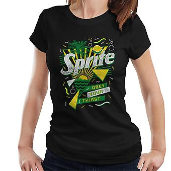 Sprite Retro 90s Sunset Women's T-Shirt