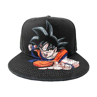 Dragon Ball Z Baseball Cap Goku Character Logo new Official Black Snapback