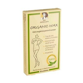 Organic Wax Stripped Body Wax 20 units